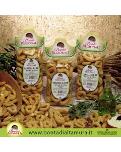TARALLI DEL RE ALL'OLIO D'OLIVA 500g