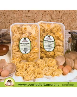 FETTUCCINE ALL'UOVO 500g