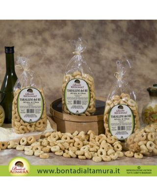 TARALLINI DEL RE ALL'OLIO D'OLIVA 250g